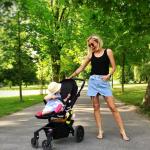 Diana Hagerova a dieťa