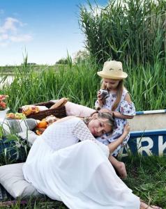 Miriam Kalisová a jej dcéra